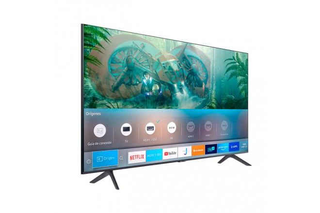 "TV SAMSUNG 55"" Pulgadas 139 Cm 55TU8000 LED 4K-UHD Plano Smart TV 7"