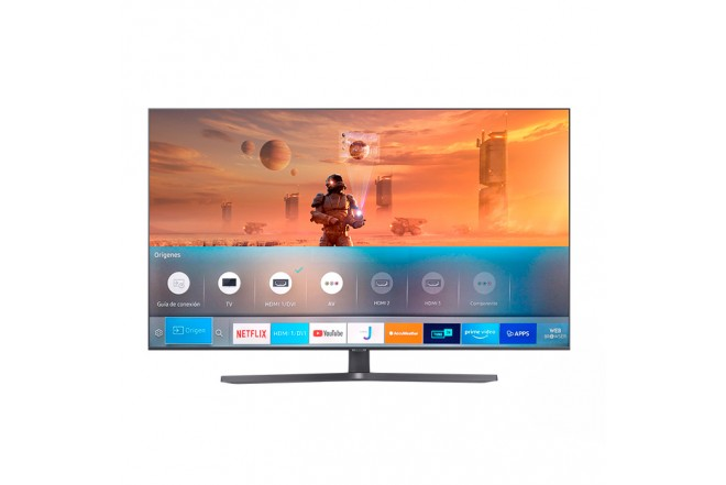 "TV SAMSUNG 65"" Pulgadas 166 Cm 65TU8500 LED 4K-UHD Plano Smart TV Crystal 1"