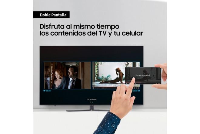 "TV SAMSUNG 65"" Pulgadas 166 Cm 65TU8500 LED 4K-UHD Plano Smart TV Crystal 4"