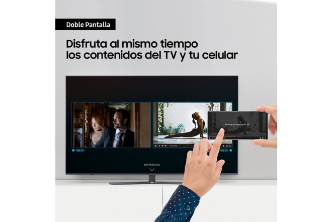 "TV SAMSUNG 50"" Pulgadas 127 Cm 50TU8500 LED 4K-UHD Plano Smart TV 4"