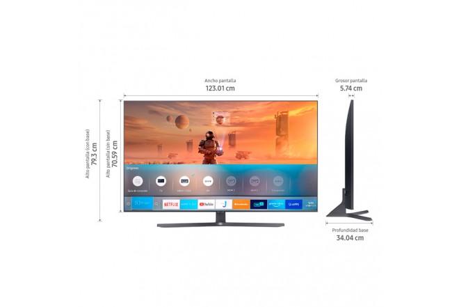 "TV SAMSUNG 55"" Pulgadas 139 Cm 55TU8500 LED 4K-UHD Plano Smart TV Crystal 7"