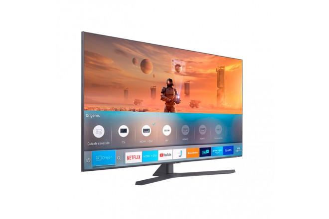 "TV SAMSUNG 55"" Pulgadas 139 Cm 55TU8500 LED 4K-UHD Plano Smart TV Crystal 8"