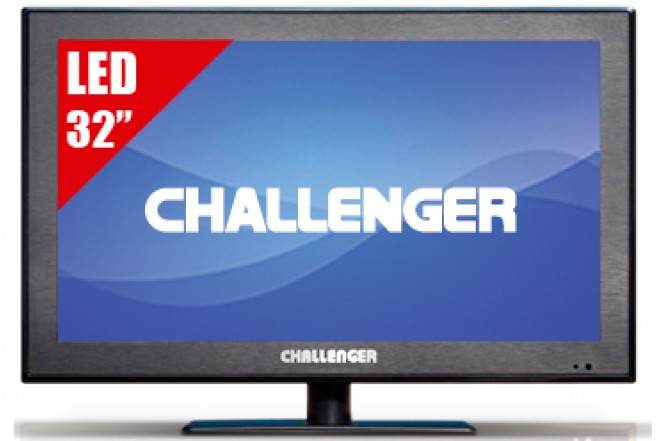 "TV 32"" LED CHALLENGER 32D50 HD"