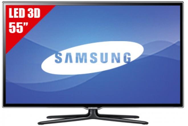 """TV 55"""" LED SAMSUNG 55ES6500 FHD 3D"""