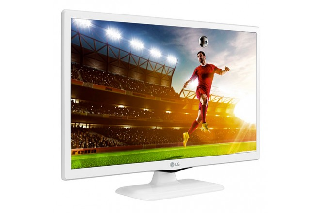 "TV 24"" 60cm LG LED 24MT48VF HD Blanco"