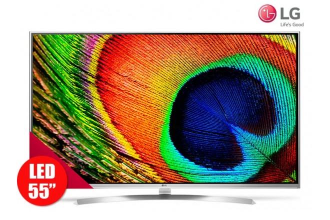"Tv 55"" 139cm LED LG 55UH850T UltraHD Internet"