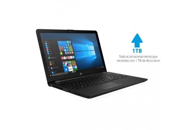 "Portátil HP - 15-BS010LA - Intel Core i3  - 15.6"" Pulgadas – Disco Duro 1Tb – Negro"