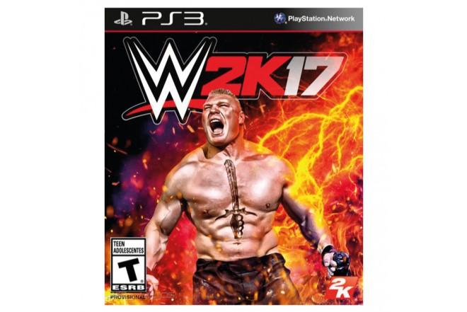 Videojuego PS3 WWE 2K17