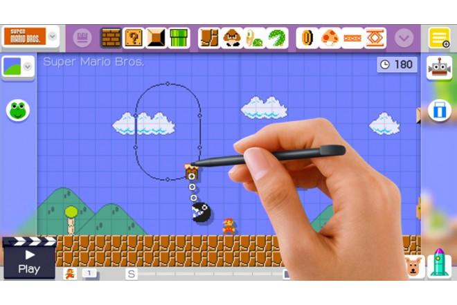 Videojuego Super Mario Maker WiiU