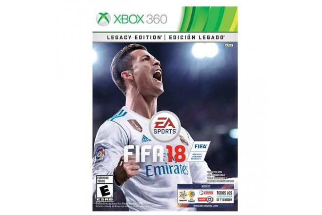 Videojuego XBOX 360 FIFA 18 Edición Legado