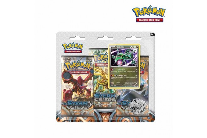 Pokémon TCG 3 PACK BLISTER Steam Siege