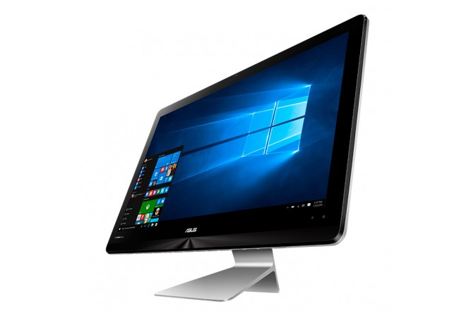 "PC All in One ASUS N240I Core i5 24"" Plata FHD"
