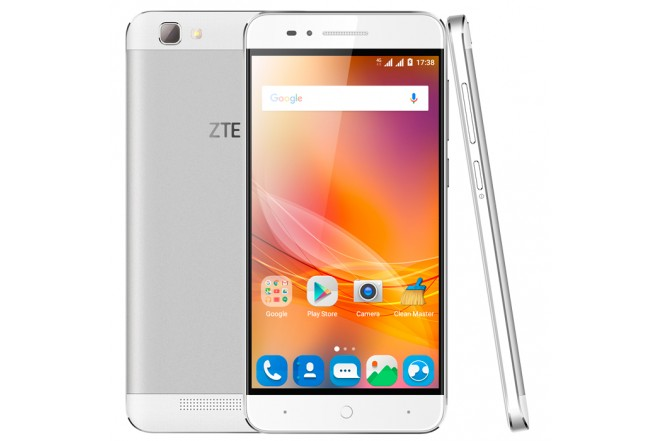 Celular ZTE Blade A610 DS 4G Plata