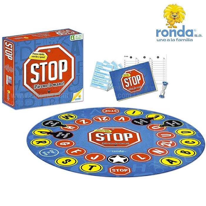 juego de mesa ronda stop alkosto tienda online