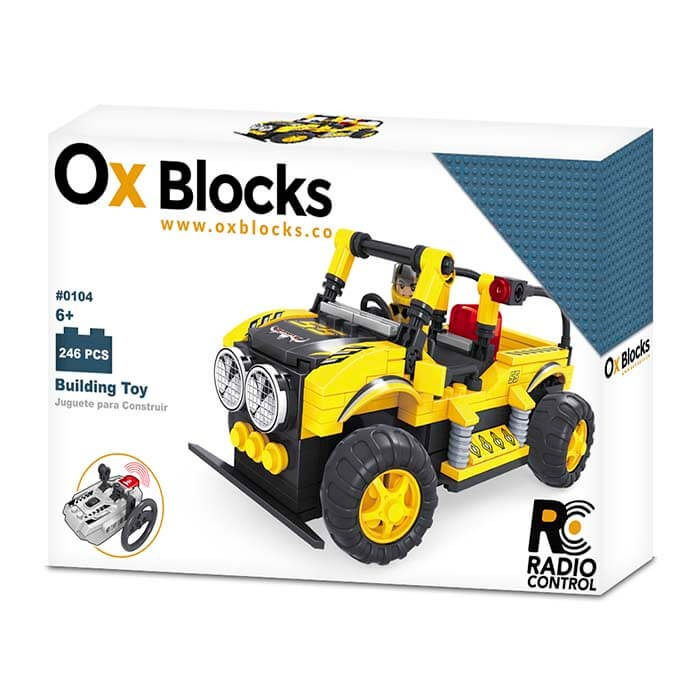 Ox Blocks Carro 246 Pcs Alkosto Tienda Online