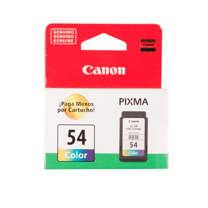 Resultado de imagen para Cartucho de tinta Canon 54