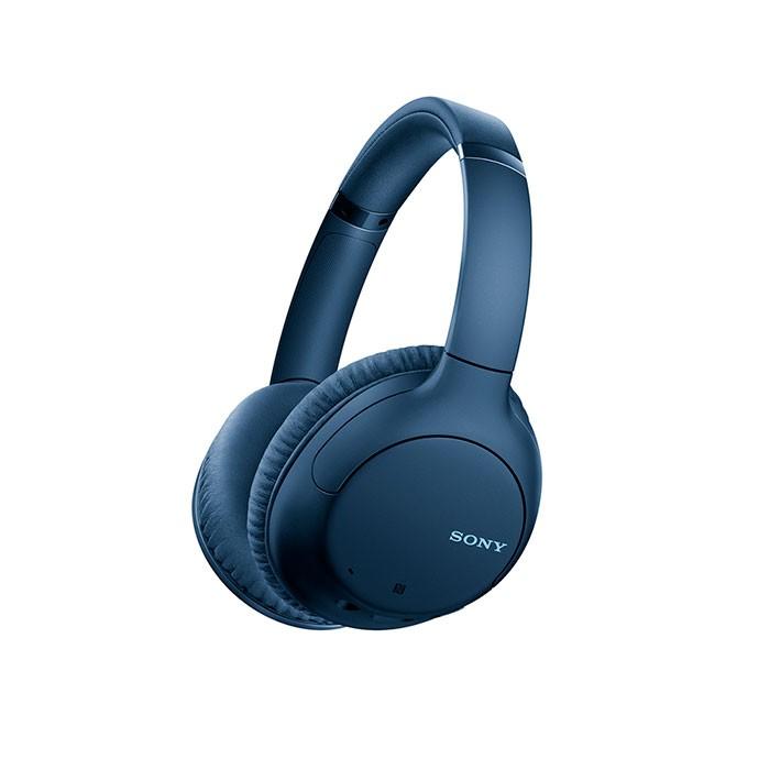 Audífonos de Diadema SONY Inalámbricos Bluetooth Over Ear WH-CH710N Cancelación de Ruido Azul