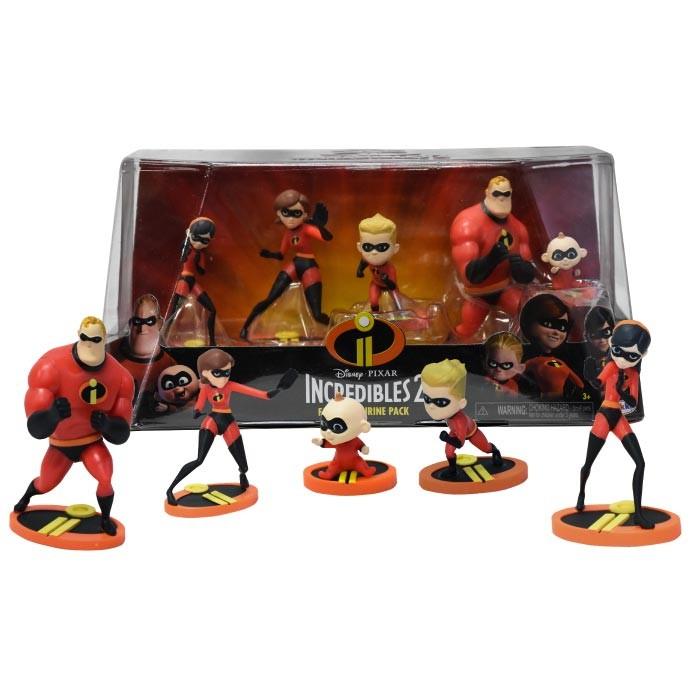 DISNEY Set de Figuras Coleccionables de Los Increíbles 2 Alkosto ... 56ce5f821ad