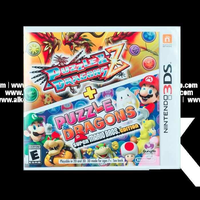 Video Juego Nintendo 3ds Puzzle Dragons Z Super Mario Bros