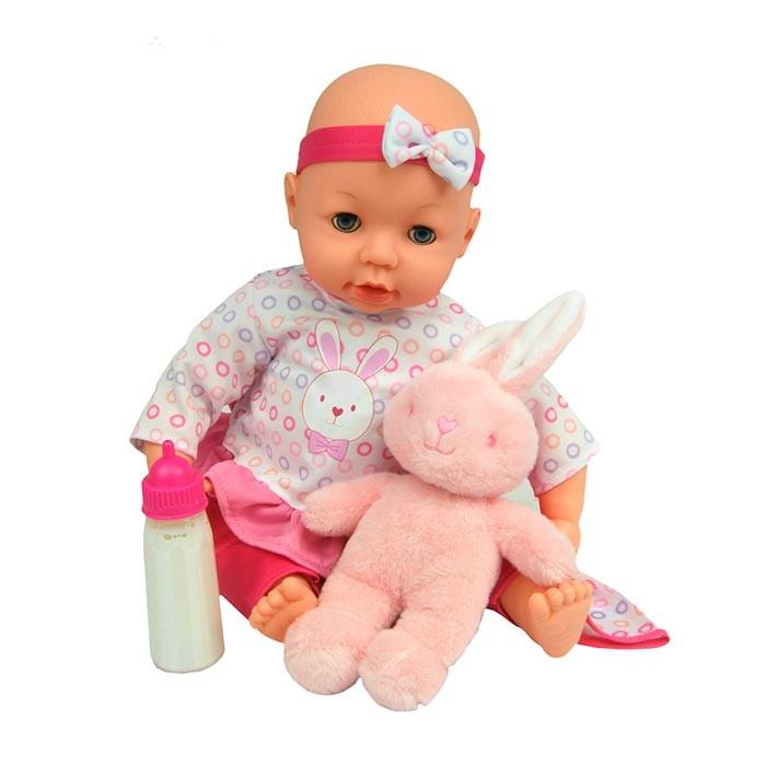 81ed1f347 GIGO TOYS Muñeco bebé de 40.5 cm con osito de peluche Alkosto Tienda ...
