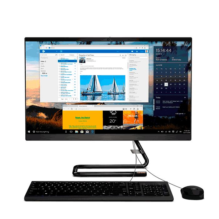 """PC All in One LENOVO  A340  Intel Core i5  23.8"""" Pulgadas  Disco Duro 1TB  Negro"""