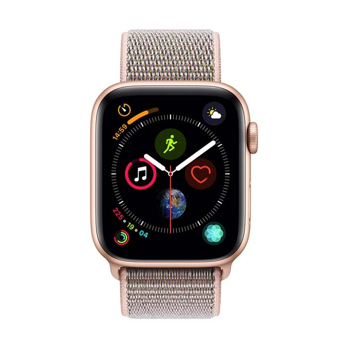 41b7a958e1c3 Reloj APPLE WATCH S4 GPS 40M Oro Correa Loop Deportiva Rosado ...