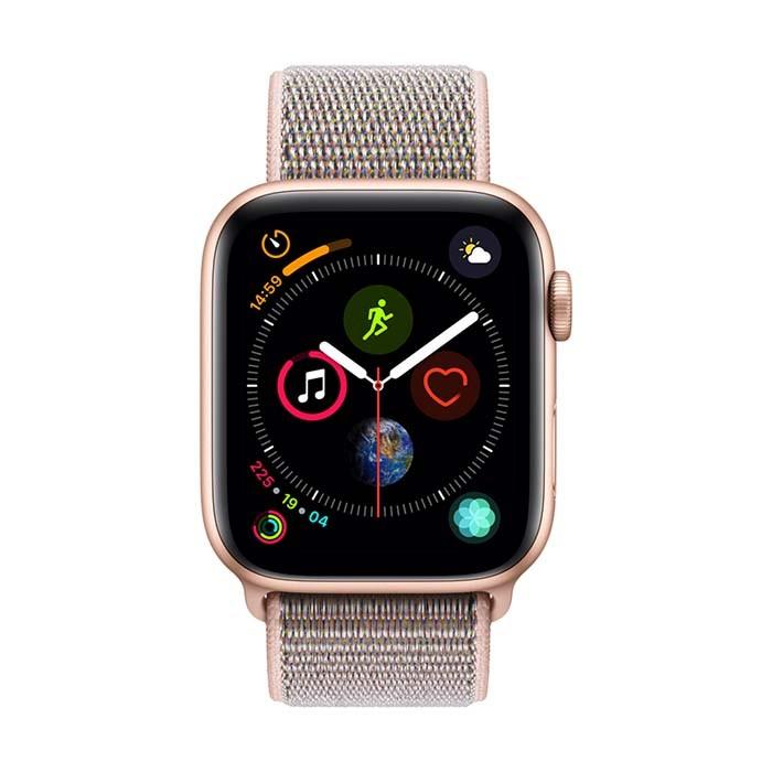 8fbee065f4f3a Reloj APPLE WATCH S4 GPS 40M Oro Correa Loop Deportiva Rosado. Click sobre  la imagen para el zoom