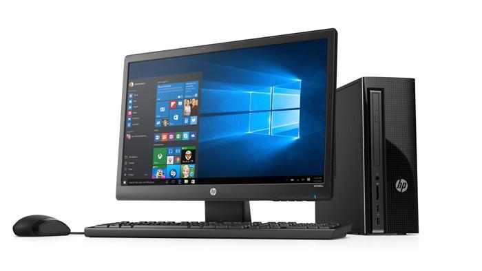 Computador de escritorio hp 260 p100b pentium 20 negro for Escritorio para computadora