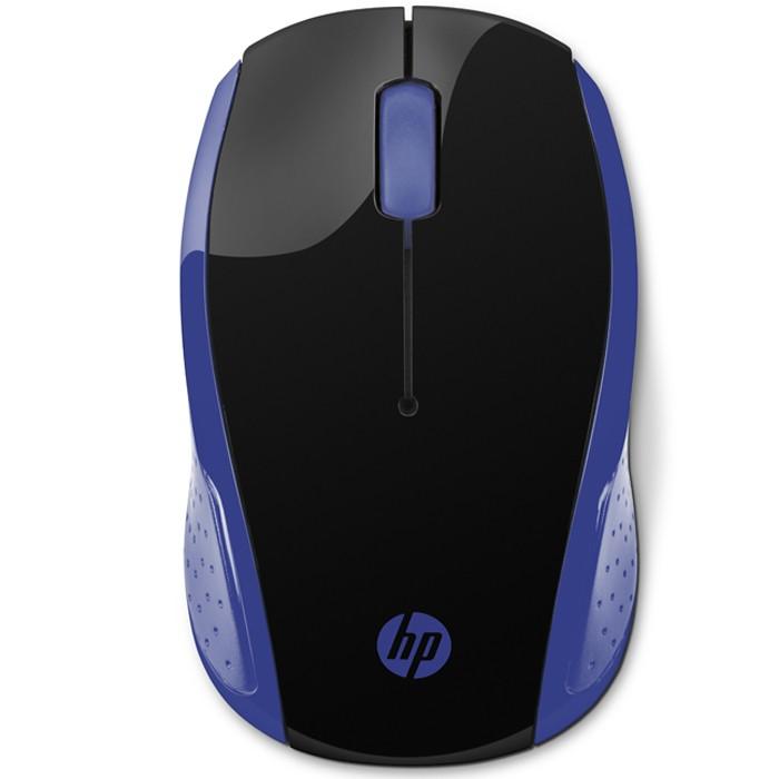 Mouse HP Inalambrico Optico 200 Negro / Azul