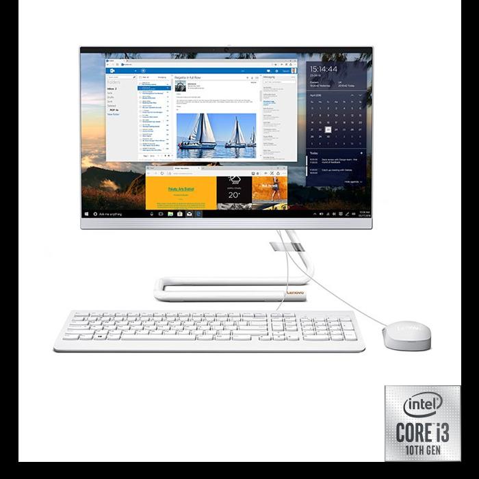 "All In One Lenovo A340 Intel Core i3 21,5"" Pulgadas RAM 4GB Disco Duro 1TB Blanco"