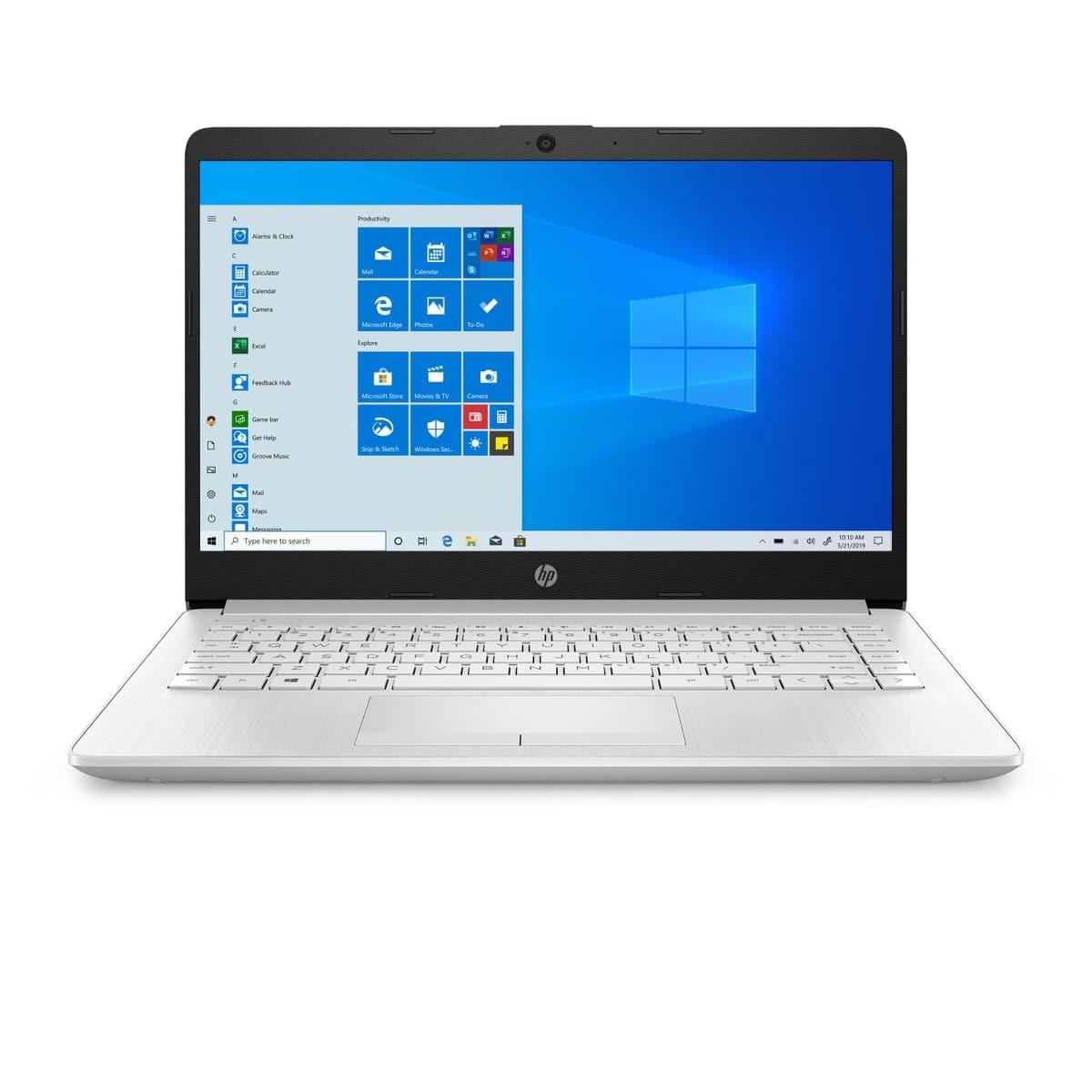 "Portatil HP 14"" Pulgadas 14-cf2074la Intel Core i5- 8 GB RAM- Disco Estado Sólido 256GB-Plateado"