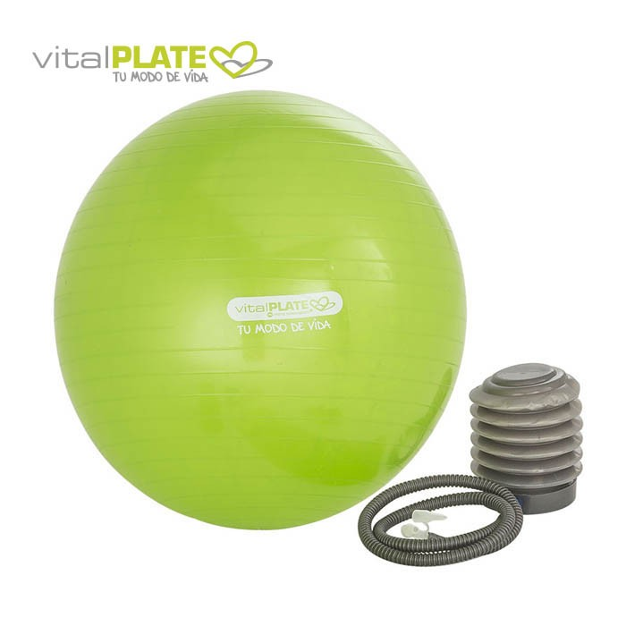 Balon Pilates y Yoga VITAL PLATE Alkosto Tienda Online 5fbd445b572e