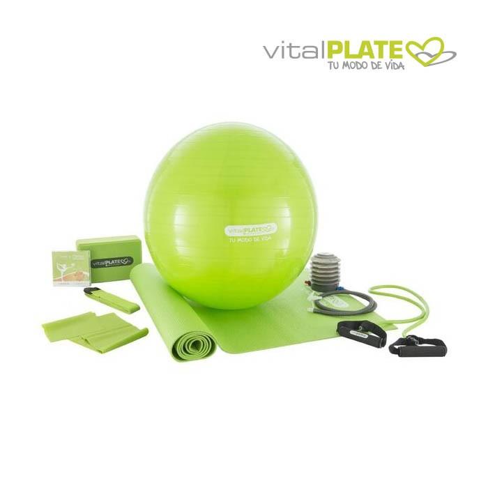 Set de pilates y yoga VITAL PLATE Alkosto Tienda Online 5b830f60b6b0
