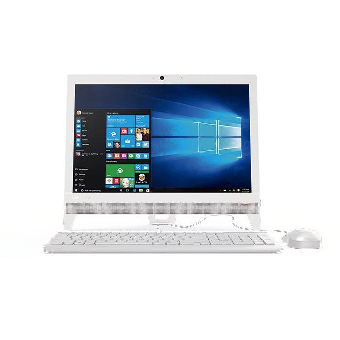 pc all in one lenovo 310 pentium 19 5 blanco alkosto tienda online. Black Bedroom Furniture Sets. Home Design Ideas