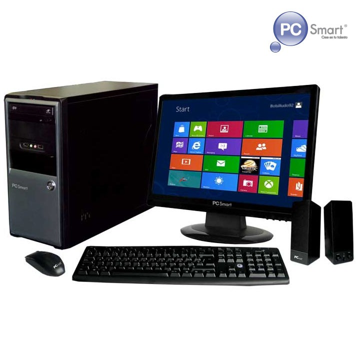 Computador de escritorio pcsmart celeron windows 8 pdk for Escritorio para computadora