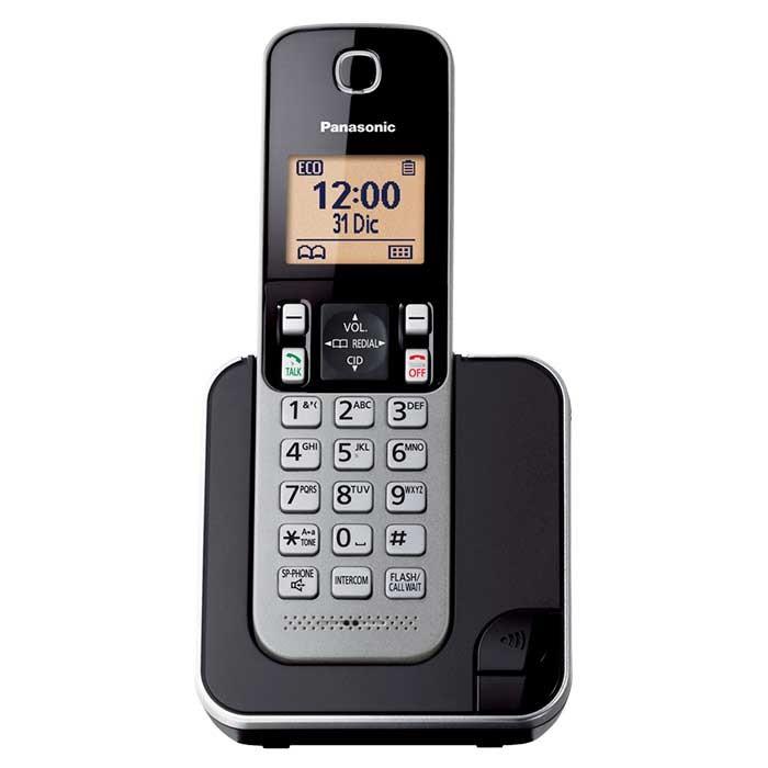 a43be18b53a Teléfono Inalámbrico PANASONIC KX-TGC350LAS Negro Alkosto Tienda Online