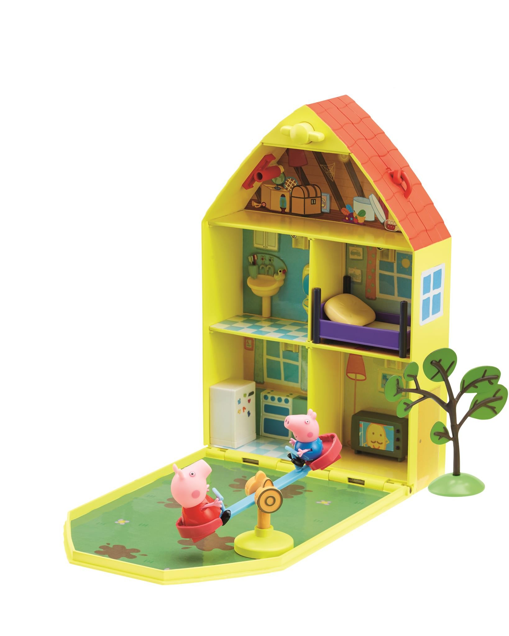 peppa pig casa juego y jardin alkosto tienda online