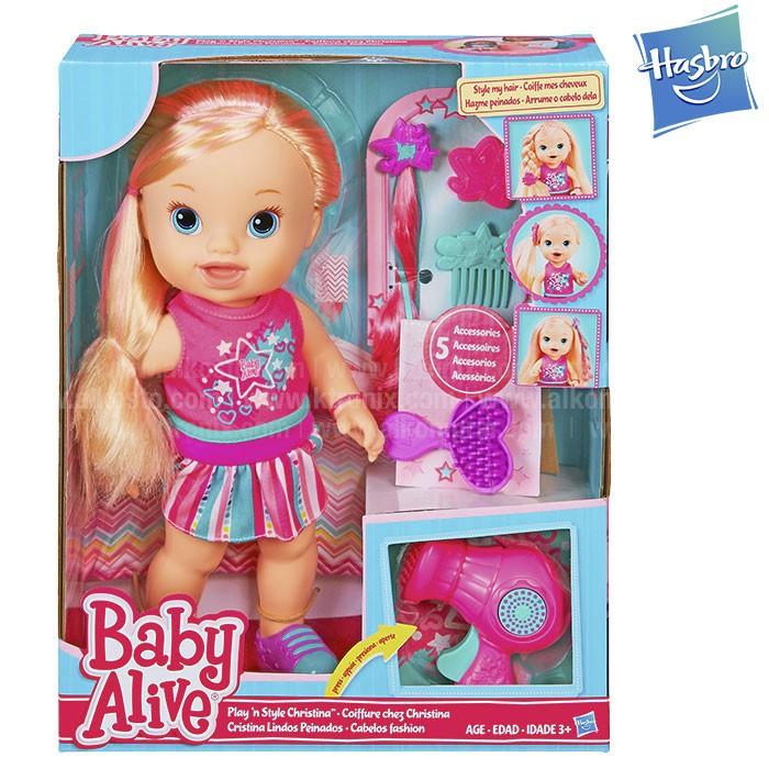 Baby Alive Cristina Lindos Peinados B1448 Alkosto Tienda