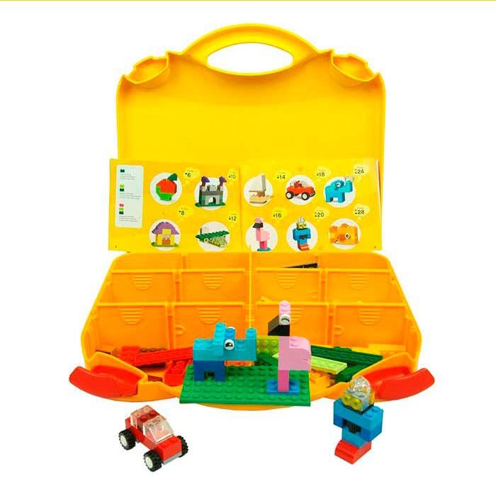17 piezas surtido comidas y cubertería de plata Lego figuras