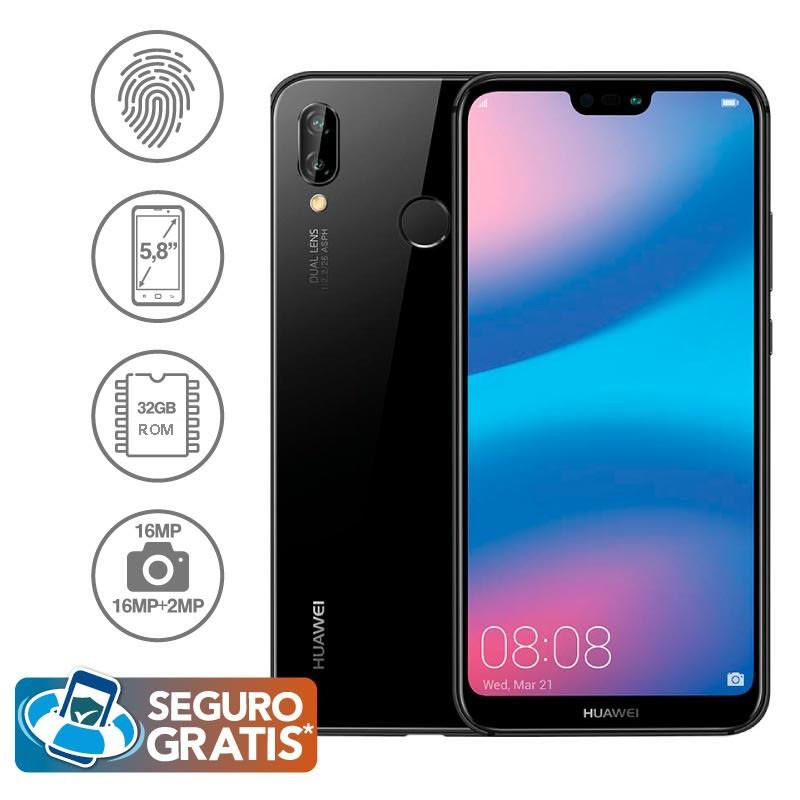 c9b085b89a2 Celular Libre HUAWEI P20 Lite Negro DS 4G Alkosto Tienda Online