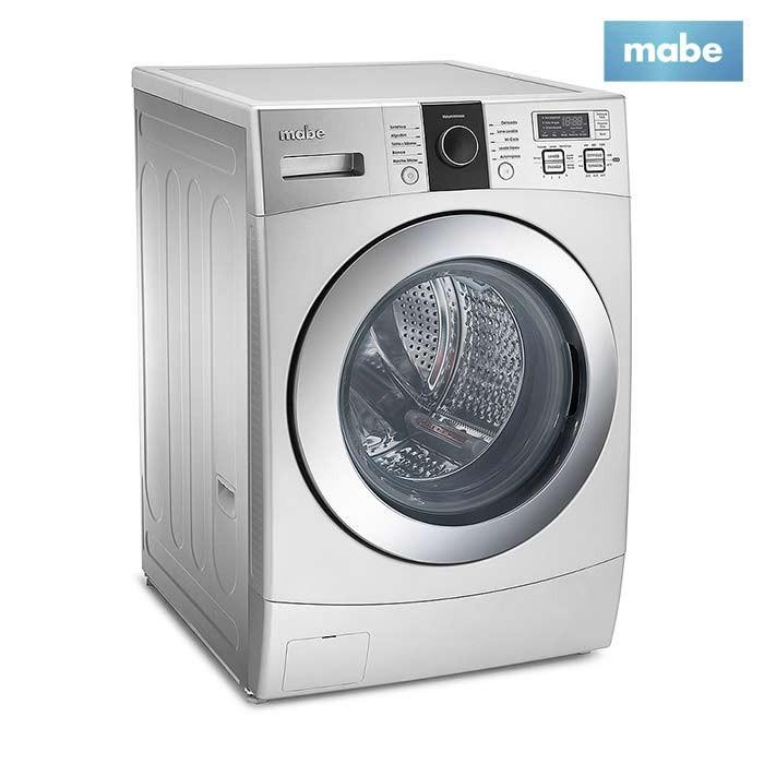Lavadora secadora mabe 12kg lsm1105xs gris alkosto - Lavadora y secadora en columna ...
