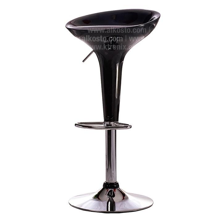Silla de bar negra wy101 alkosto tienda online for Sillas para bares y confiterias