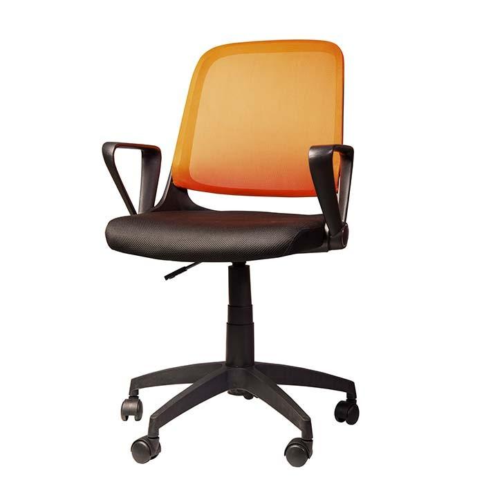 Silla de oficina tukasa w 158a naranja alkosto tienda online for Sillas de oficina ofertas