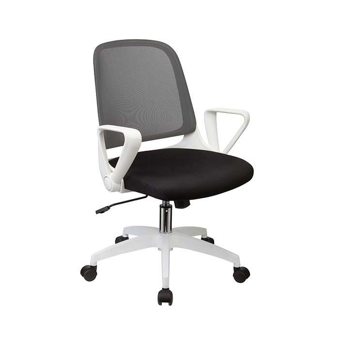 Silla oficina tukasa gris w 158b alkosto tienda online for Sillas blancas para escritorio