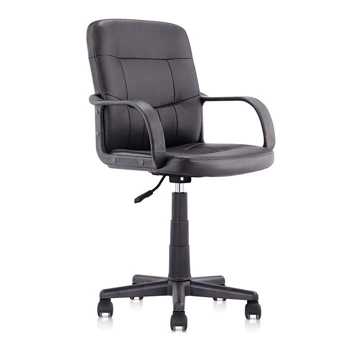 Silla de oficina tukasa ejecutiva 6104 negra alkosto for Bases para muebles de oficina