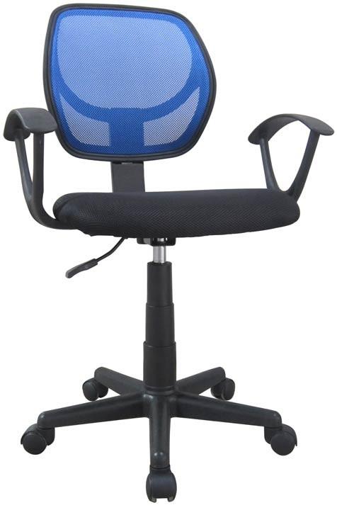Silla de oficina k line espaldar azul 5056 alkosto tienda for Costo de sillas para oficina