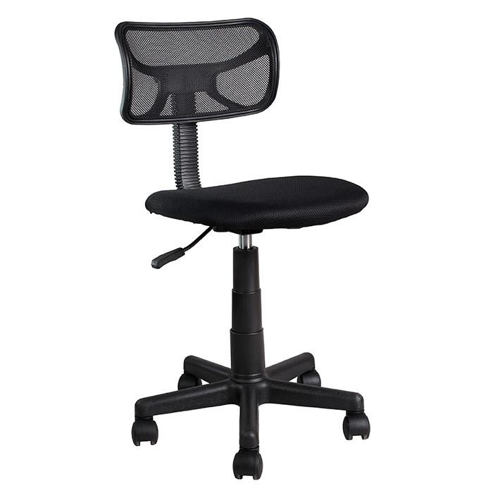 Silla de oficina tukasa 5001m negra alkosto tienda online for Rueditas para sillas oficina