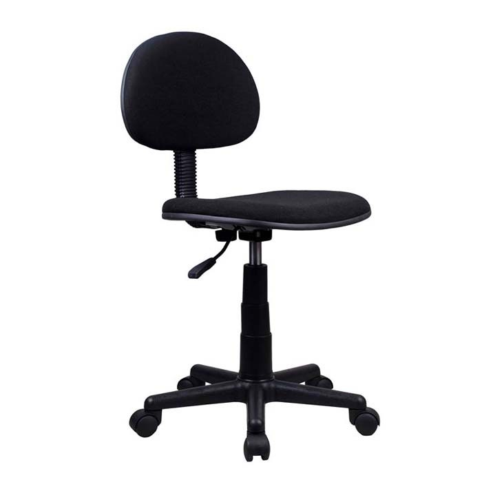 Silla de oficina tukasa 8003 negra alkosto tienda online for Sillas de diseno para oficina
