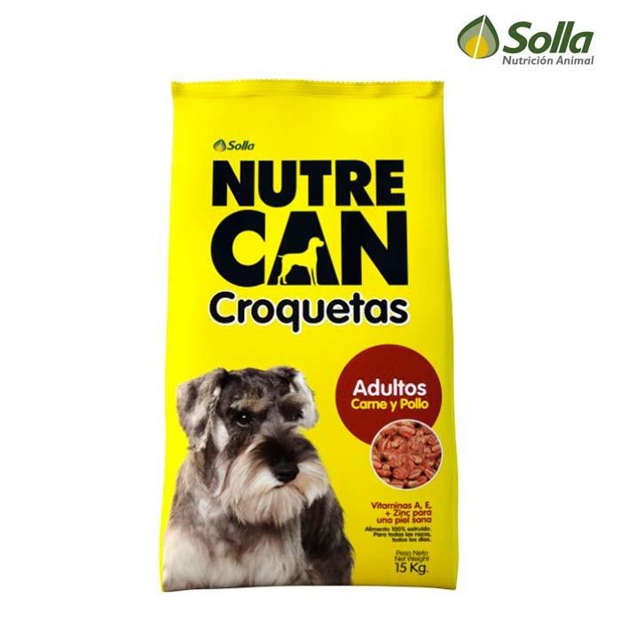 Alimento para perros nutrecan croquetas adultos 15kg for Alimento para perros