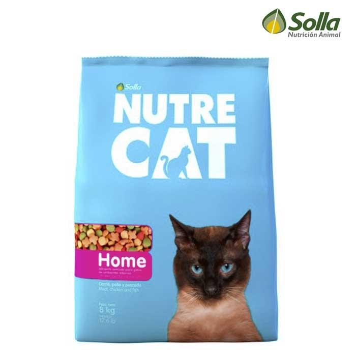 alimento para gatos nutrecat home 8kg alkosto tienda online